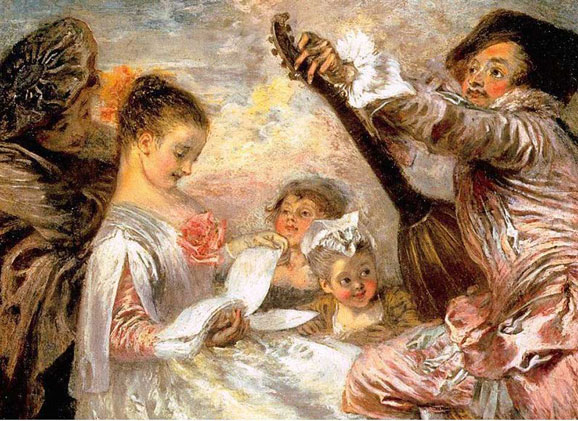 9-watteau-The-music-lesson
