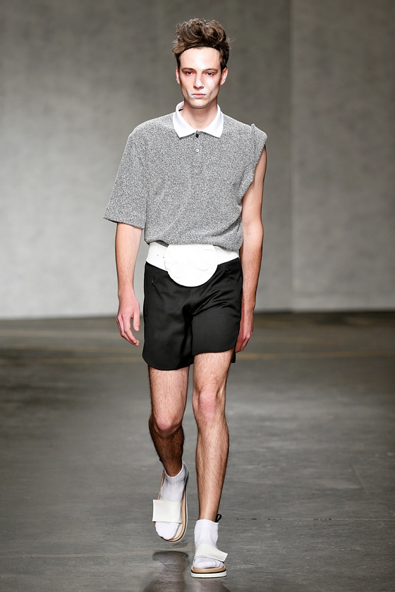 Xander Zhou Menswear Spring Summer 2015 London Fashion Week June 2014